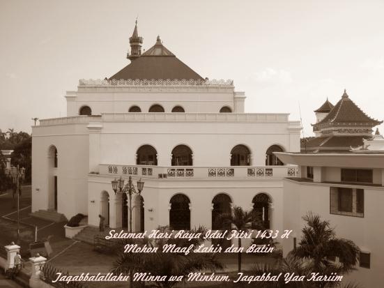 [Foto Hari Ini] Idul Fitri 1433 H