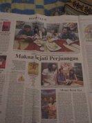 Bedah Buku di halaman Deteksi Jawa Pos