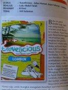Travelicious Lombok di Batavia Air Inflight Mag Edisi Juli 2011