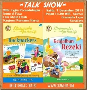 Talkshow Storycake