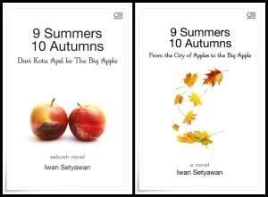 9 Summers 10 Autumns edisi bahasa Indonesia dan bahasa Inggris