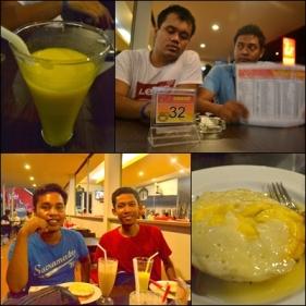 Makan surabi Bandung di Enhaii