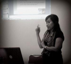 Sari Musdar in Action! :)