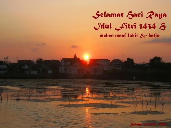 Idul Fitri 1434 H