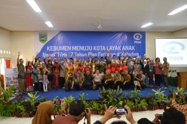 Suasana acara Napak Tilas 17 Tahun Plan Berkarya di Kebumen